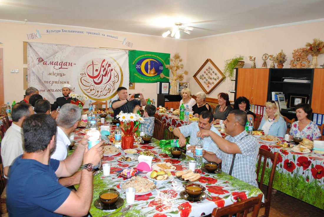 Торжественный ифтар в месяце Рамадан (г. Хмельницкий) - 2016