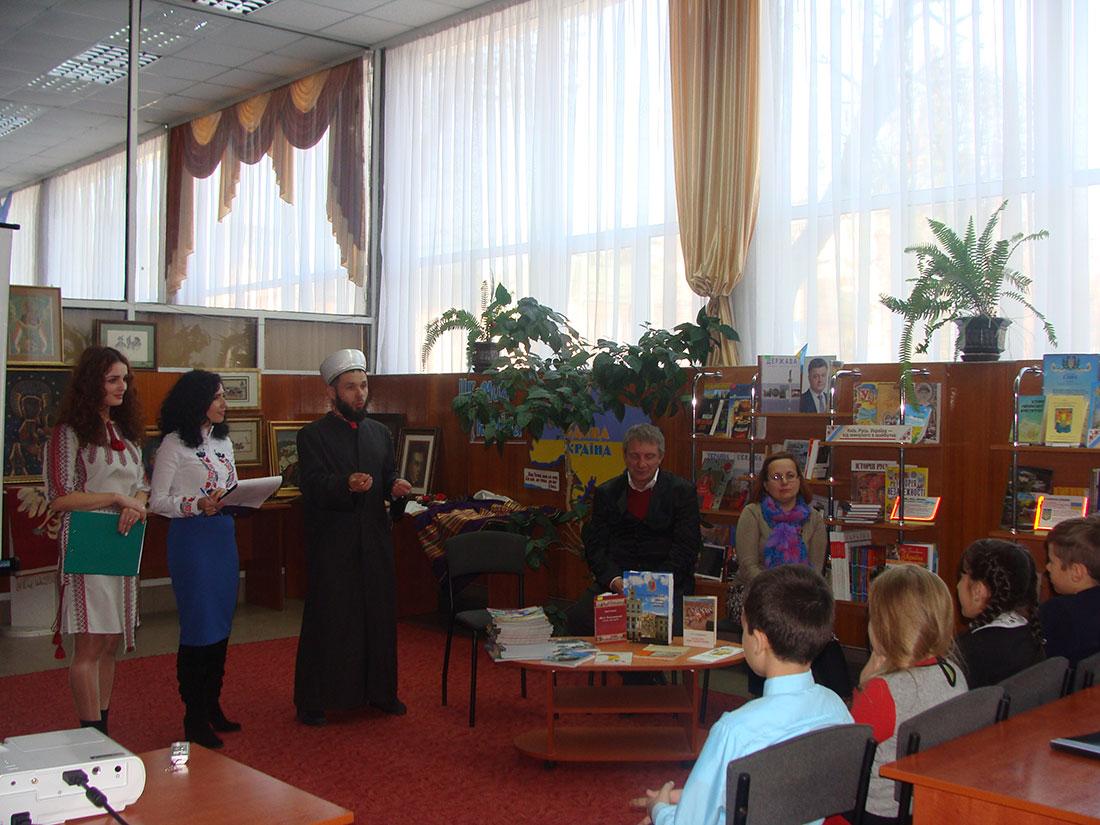 Исламские книги в местных библиотеках города