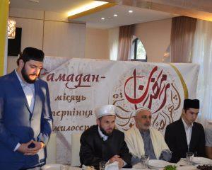 Первый ифтар в Луцке.Фото-15