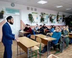 Школьники знакомятся с Исламом_2017.Фото-02
