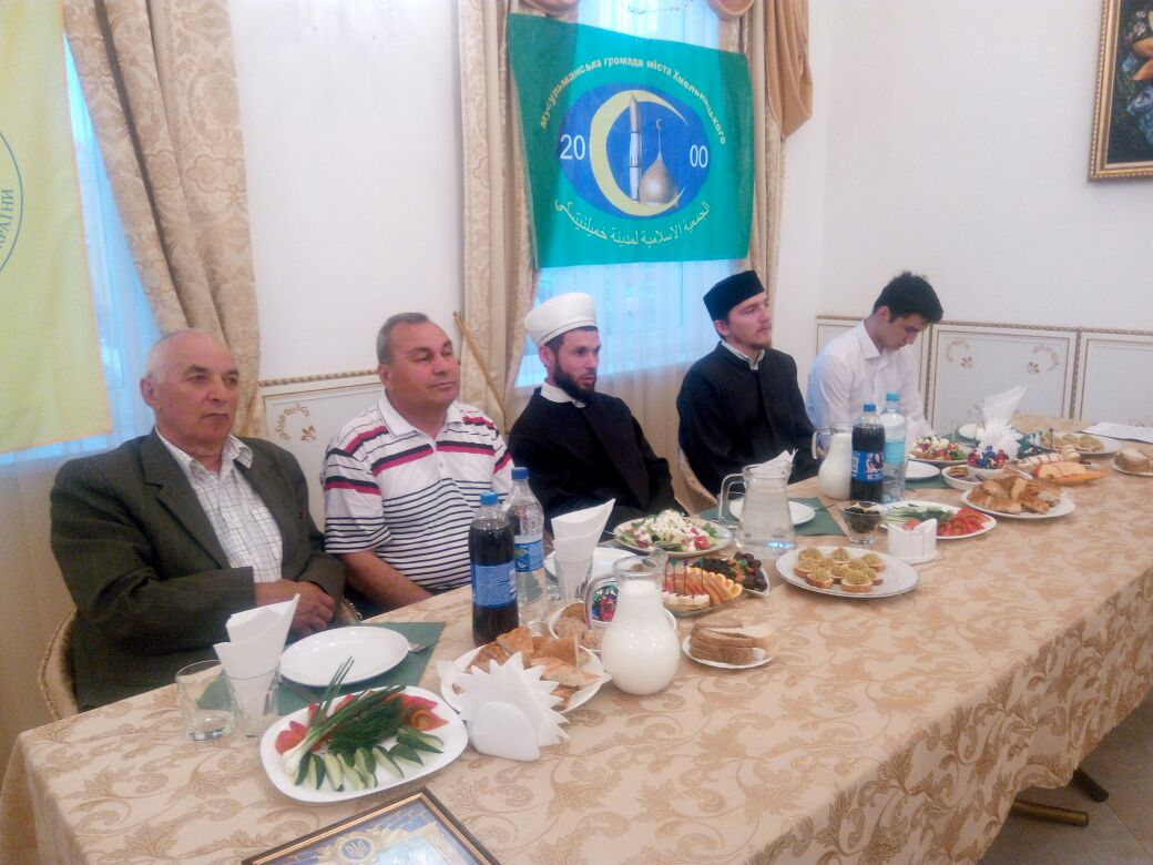 Торжественный ифтар в месяце Рамадан (г. Хмельницкий) - 2018